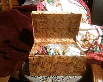 Decorative Home Storage Trunk/Chest Box
