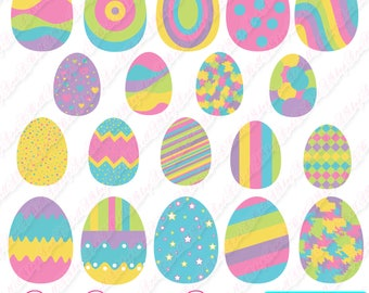80% OFF SALE Easter clipart, easter eggs clipart, easter egg, easter digital, digital clipart, eggs, easter egg clipart, easter clipart