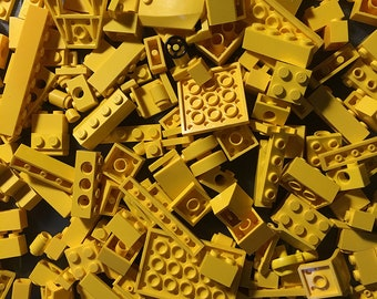 8 oz (1/2 pound) of Yellow Bulk Lego