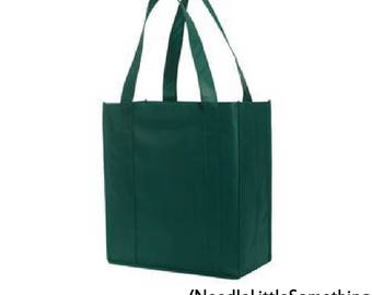 Reinforced Reusable Grocery Tote Bag