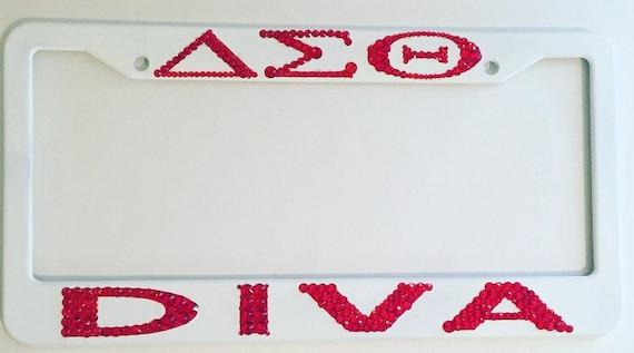 Delta Sigma Theta Tag Frame