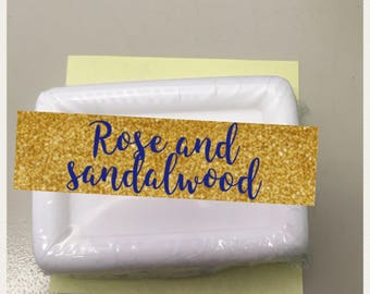 Rose and sandalwood