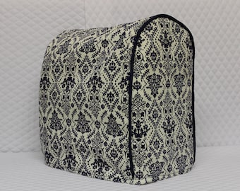 Blue Damask KitchenAid Mixer Cover