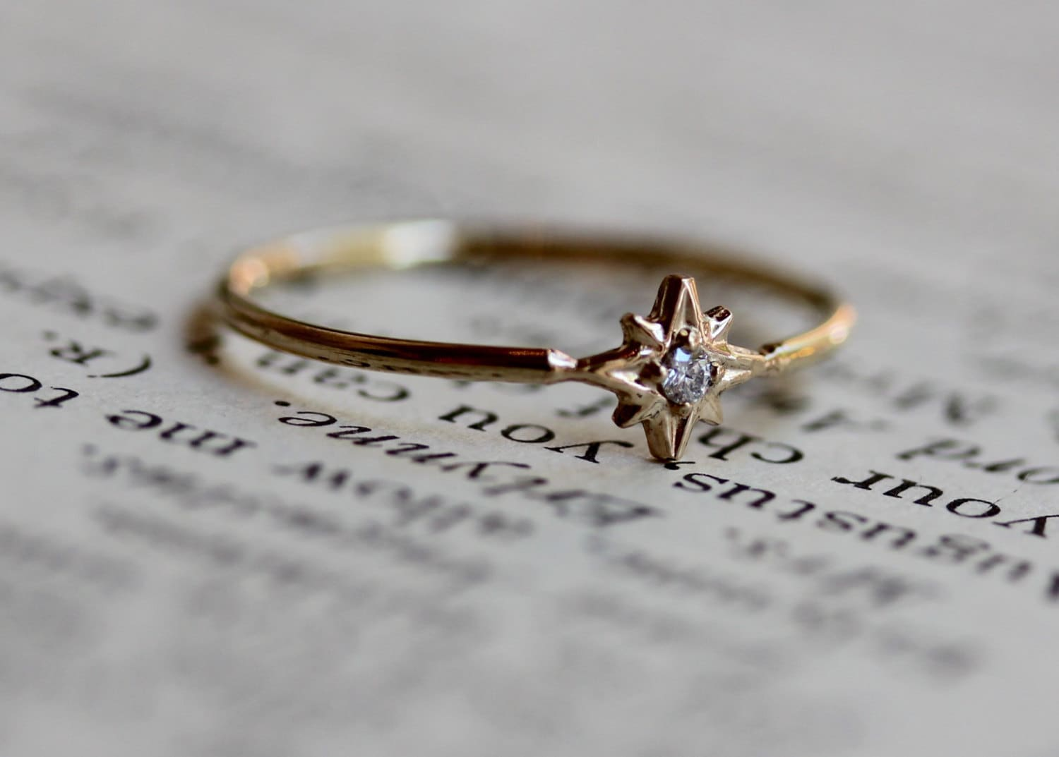 star virgo en ring boho rings midsummer babes