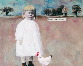 Imagine That - Original Painting