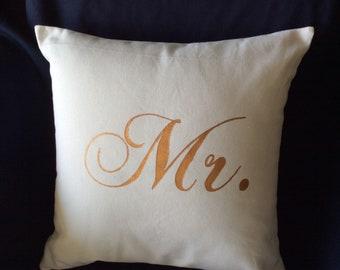 Handmade pillows- mr