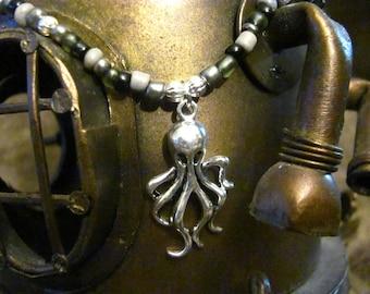 Steampunk Octopus Choker