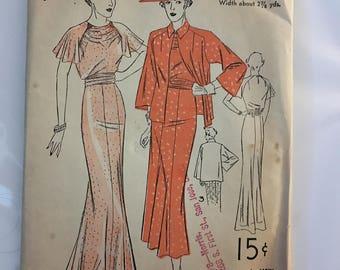Vintage Advantage dress pattern 1508