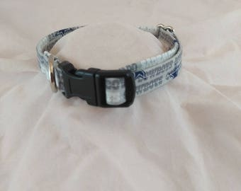 Dog or Cat Collar, Breakaway Collar, Dallas Cowboys, Small Dog Collar, Adjustable Collar, Pet Collar, Collier de chien, Collar de perro