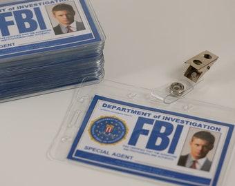 Supernatural ID Badge, Supernatural FBI ID Card,Castiel, Sam, Dean, Supernatural party, Winchester brothers, Supernatural Cosplay