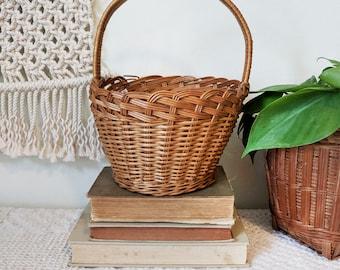 Easter Basket / Basket with Handle / Large Easter Basket / Spring Decor / Basket Planter