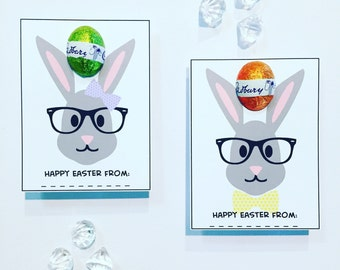 Hipster bunnies egg holders