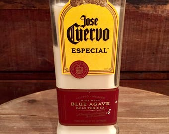 Jose Cuervo Especial Gold Tequila Candle (750ml)