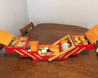 Expanding Wooden Box
