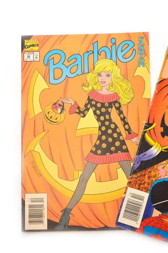 90s Barbie Comic Books Marvel Halloween Lot 2 Issues 38 48