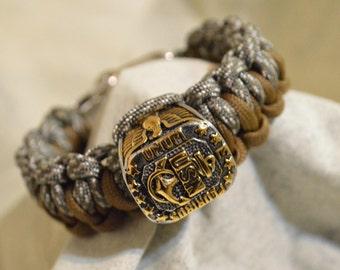 USN Navy Paracord Bracelet