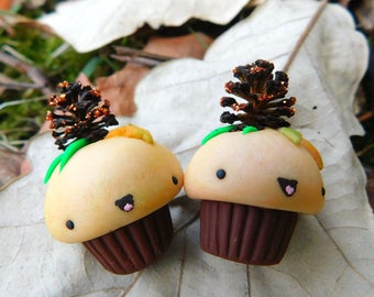 Fall Cupcake Charms