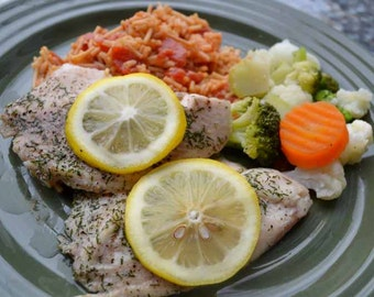 Lemony Dilled Tilapia Recipe PDF