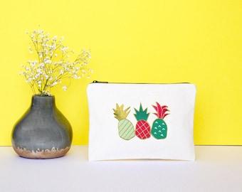 Pineapple pouch - zipper pouch