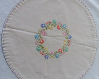 Hand made embroided dollie