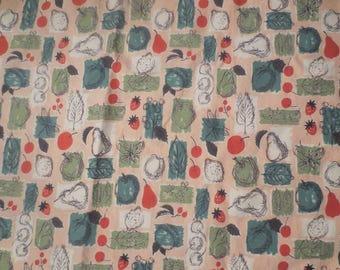 SALE Vintage Waverly Westinghouse Design Glosheen Fabric / 5 yards / Bon Bon by Melanie Kahane / Mid Century Fabric