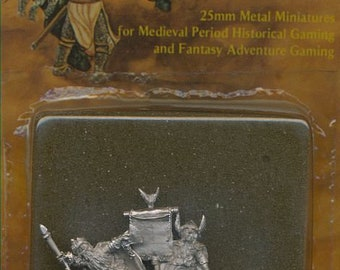 Heritage USA Knights and Magick #1465 Dwarven King (4 figures) 25mm Miniatures--New