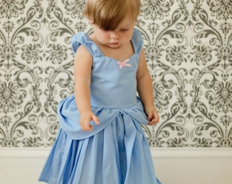 CINDERELLA  dress, Cinderella costume, Cinderella birthday party dress, Princess dress, practical princess dress, practical Cinderella dress