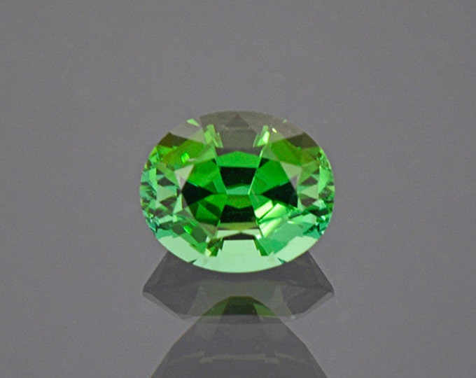 FLASH SALE! Gorgeous Bright Green Tourmaline Gemstone from Namibia 1.81 cts