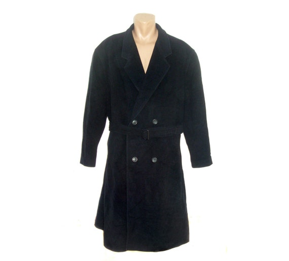 blue wool Mens long Coat cashmere Wool Vintage Men Classic Coat pure Man Overcoat Frock Winter navy RAxZw