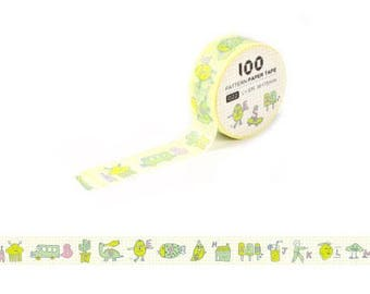 Masking Tape / Washi Tape / Deco Tape - 15mm - Alphabets