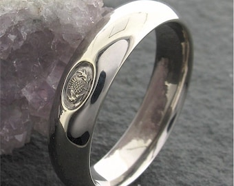 Jacobite Luckenbooth Scottish Ring Love Heart Wedding
