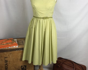 Beautiful vintage San-Clair sundress summer strappy wedding holiday chic