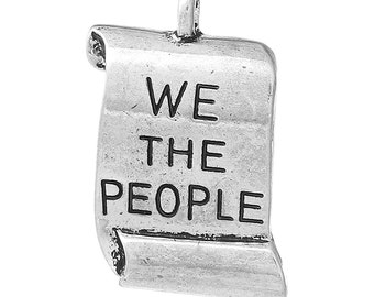 Constitution/We The People Charms - Set of 2 - #MP132