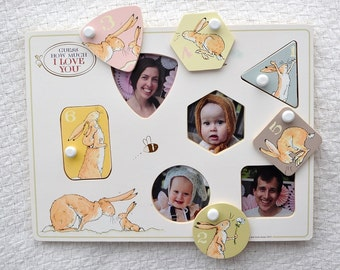 Peek-a-boo puzzle – Guess How Much I Love You six-piece puzzle