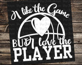 Download Like the Game Love the Player SVG Instant Download Vector