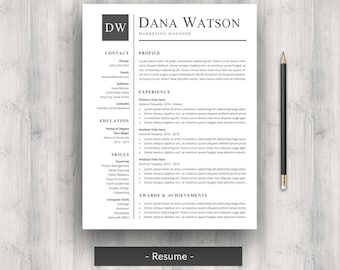 Two Page Resume Format 2 Page Resume Examples Resume Examples Nice