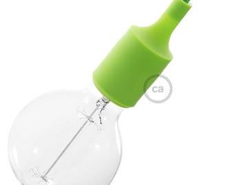 Silicone Light Socket kit - Light Green Socket