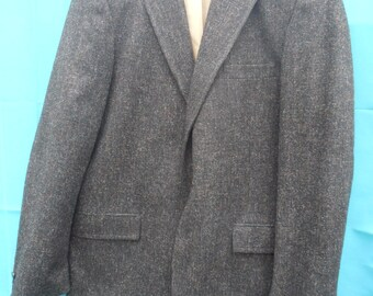 a nubby textural jacket made with love and very retro chic // free shipping continguous 48 usa