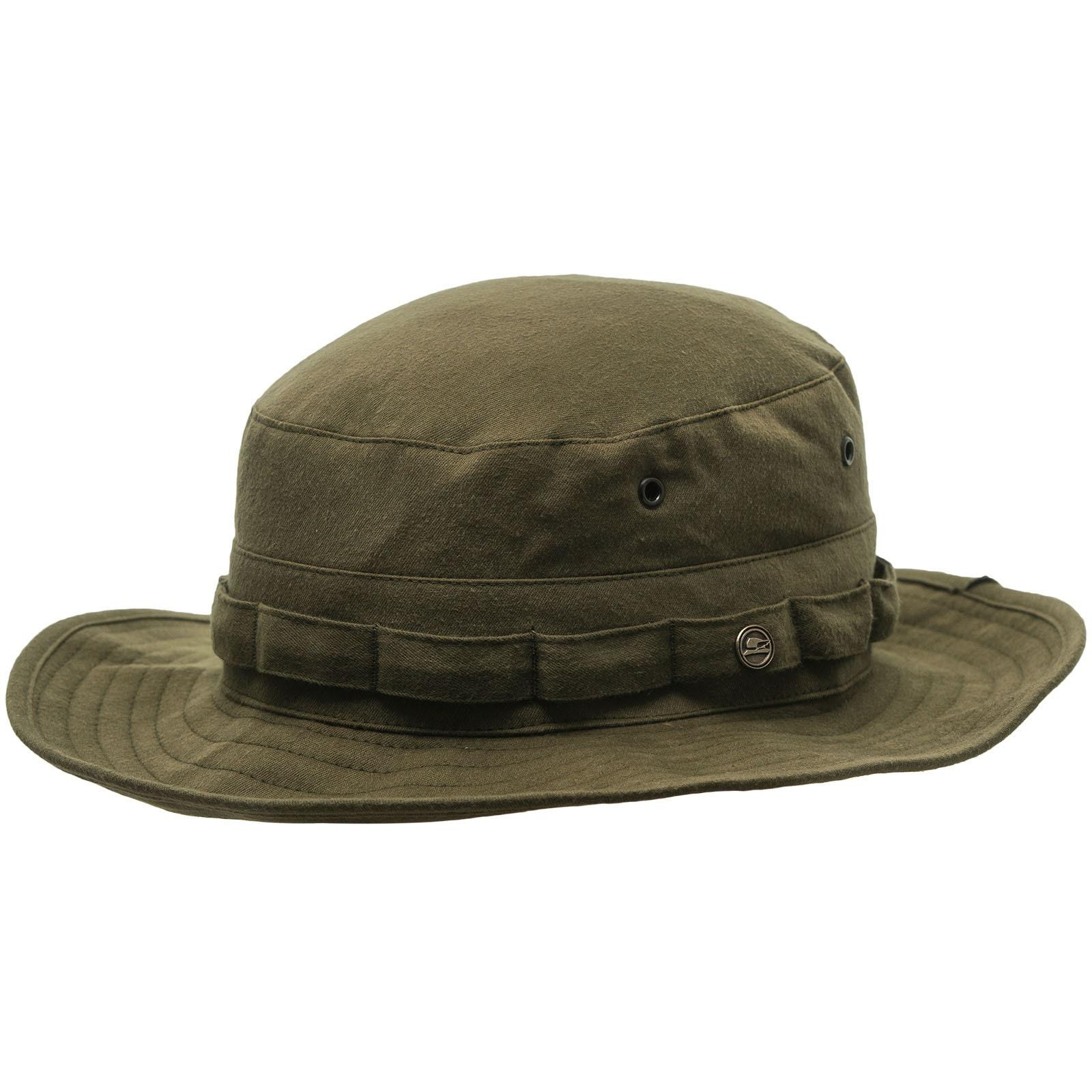 AFGHAN Safari Hiking Cotton Hat olive