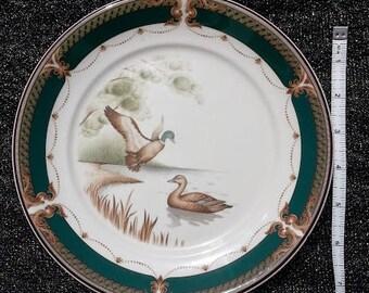 Keltcraft Noritake TRANQUIL GLEN Ireland Game Bird Salad Plates