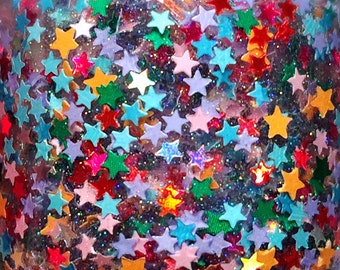 Star Gazing---handmade glitter nail polish