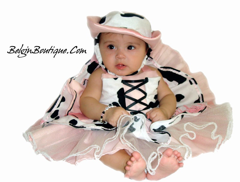 ?zoom  sc 1 st  Etsy & Pageant Baby OOC costume Western Rodeo Pink cowgirl Pink