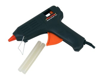 40W Hot Glue Gun Integral Stand, With 2x 11mm Glue Sticks. CT3069