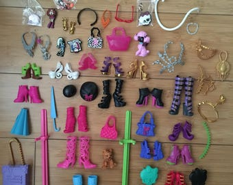 Monster high doll accessories