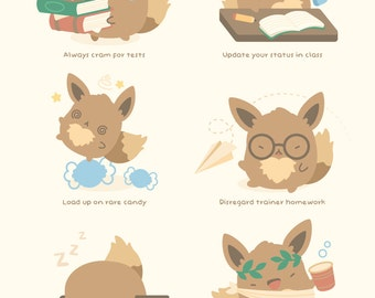 MINI Eevee's Guide to Getting Straight A's
