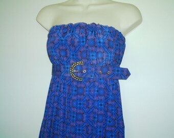 HALF PRICE DIY Recycled Granny Dress size S/M