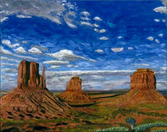 Monument Valley - original painting