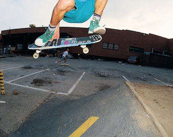 "80s Skate Photo - Mark Gonzales Eighties Skateboarding Photograph 16x20"" Print - J Grant Brittain Skateboarding Photo"