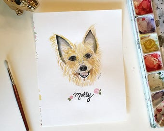 ADDITIONAL Custom Pet Portrait Discounted Rate for Additional Pet Portrait