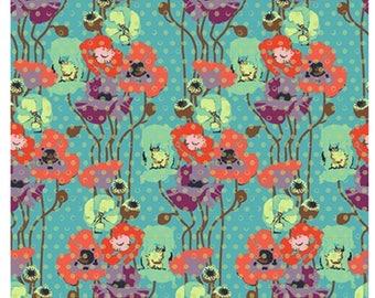 Anna Maria Horner - Floral Retrospective -  Raindrop Poppies - Candy  1/2 yard